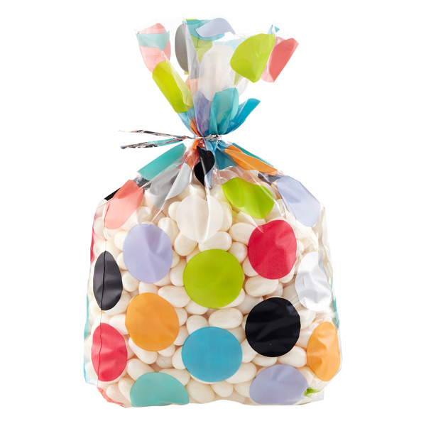 Polka Dots Cellophane Sacks