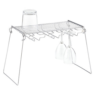 Chrome Wine Glass Rack