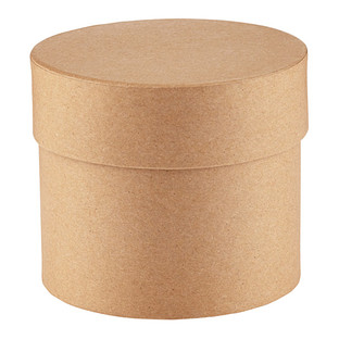 Small Round Kraft Gift Box