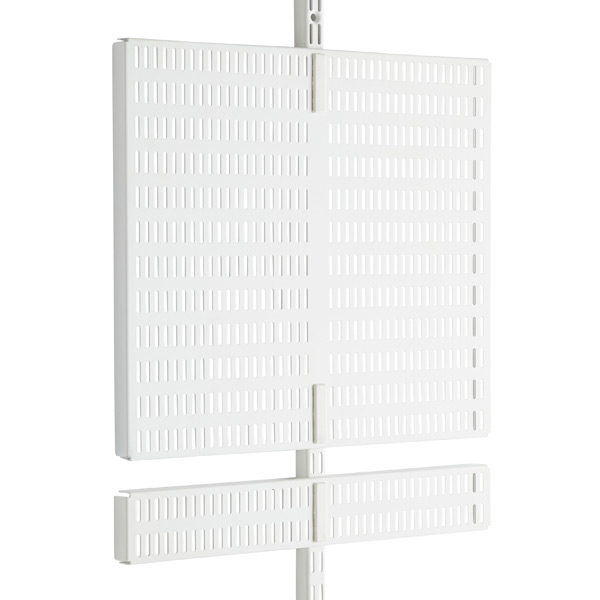 White Elfa Utility Door & Wall Boards
