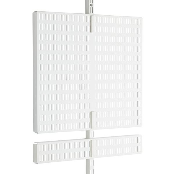 White Elfa Utility Door & Wall Boards