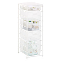 White Cabinet-Sized elfa Mesh Pantry Storage