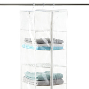 PEVA 8-Compartment Hanging Sweater Organizer