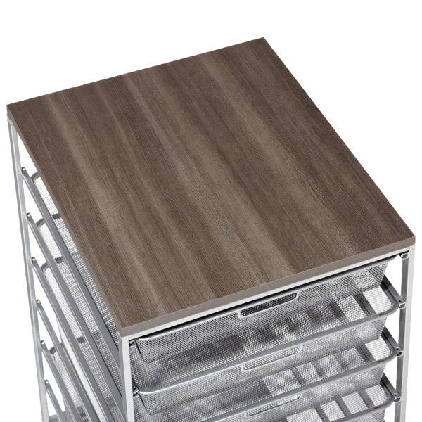 Driftwood Cabinet-Sized Elfa Melamine Tops