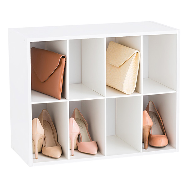 8-Pair Shoe & Purse Organizer