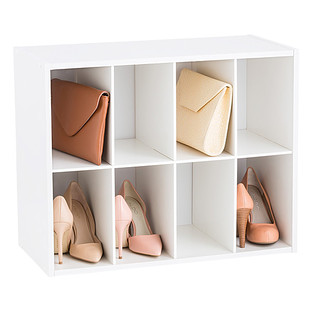 8 pair shoe and purse organizer - Container Store Shoe Storage