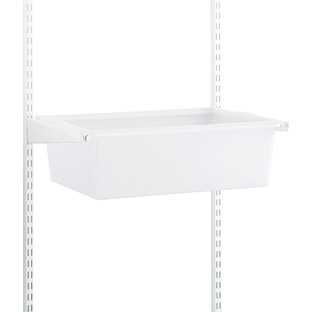 Translucent elfa classic 2' Solid Hanging Drawers & Frame