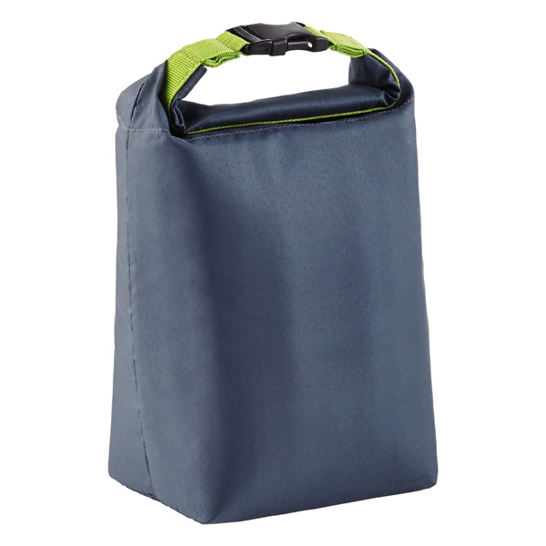 Blue Avocado Grey Click & Go Roll-Top Lunch Bag