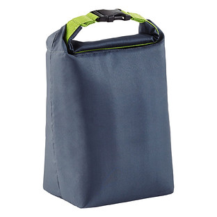 Blue Avocado Grey Click 'n Go Roll-Top Lunch Bag