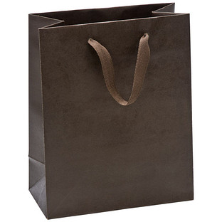 Medium Espresso Manhattan Recycled Gift Bag
