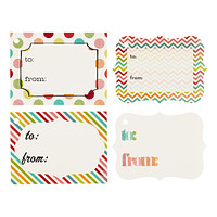 Party Fun Glittered Gift Tags