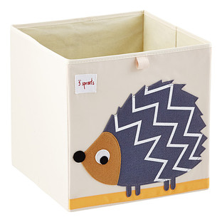 3 Sprouts Hedgehog Storage Cube
