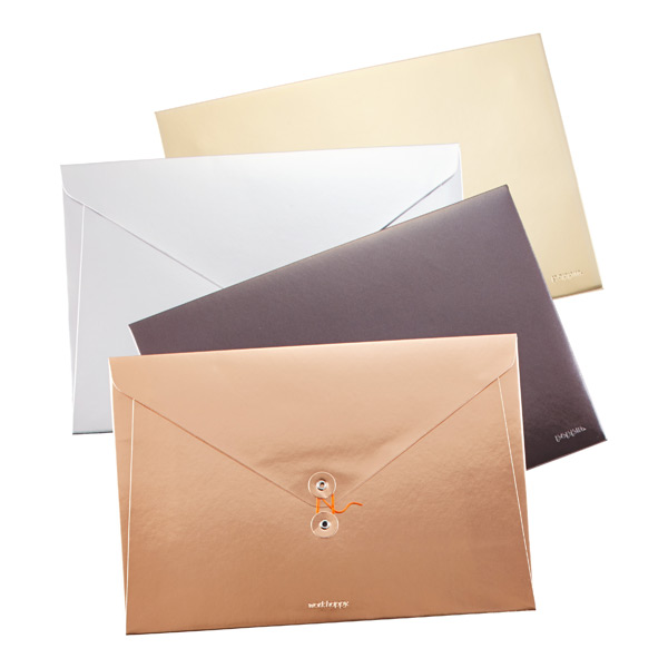 Poppin Metallic Soft Cover Folio