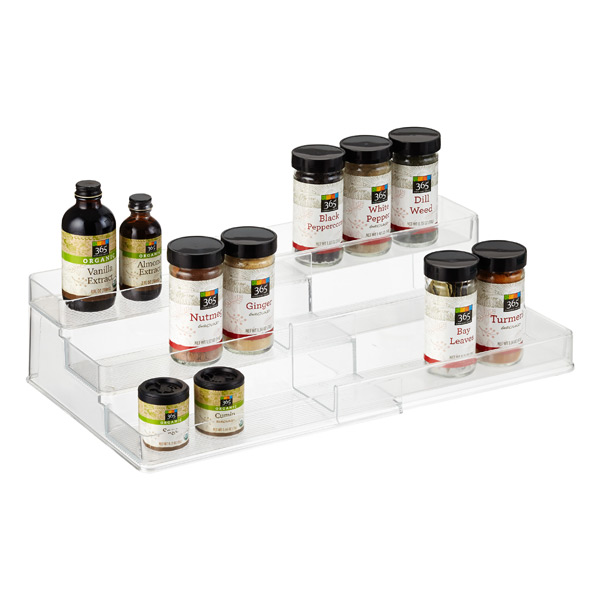 iDesign Linus Expandable Cabinet & Spice Organizer