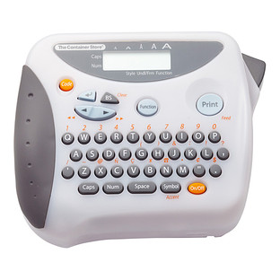 Our Label Maker with Clear Carrying Case