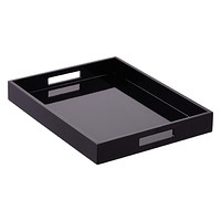 Black Lacquered Tray