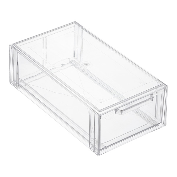 Clear Shoe Drawers Clear Stackable Shoe Drawer The