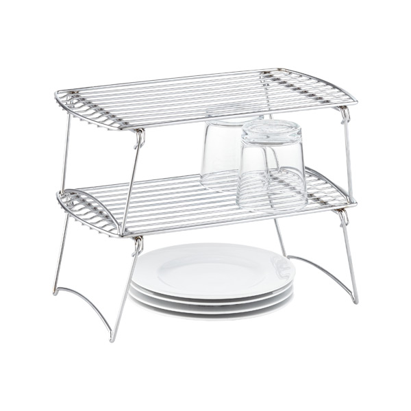 Medium Chrome Stacking Shelf