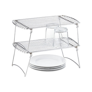 Medium Chrome Stackable Shelf