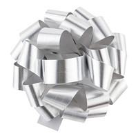 Silver Metallic Bow