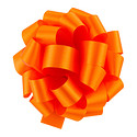 Orange Satin Bow
