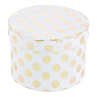 White & Gold Recycled Box