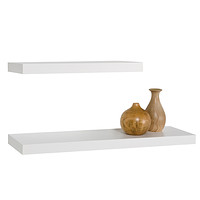 White Mantel Shelves