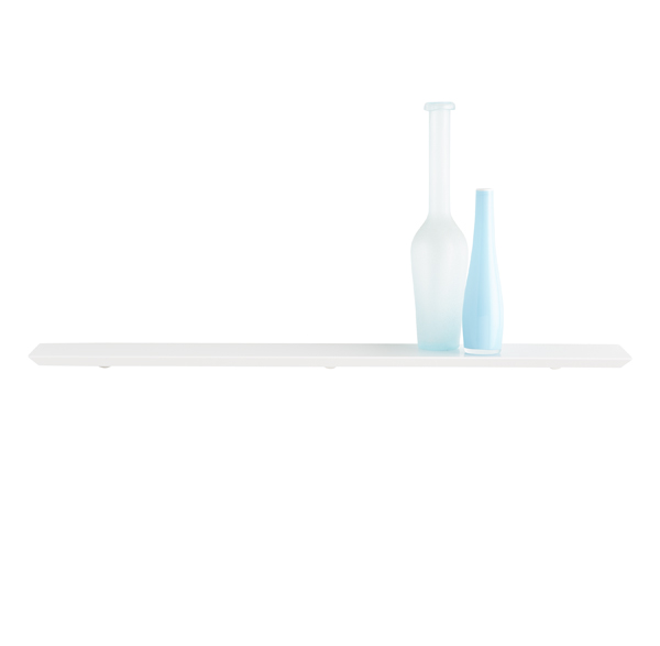 White Profile Shelves