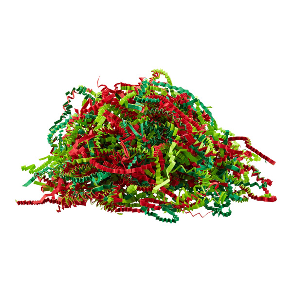 Christmas Mix Crinkle-Cut Paper Shred
