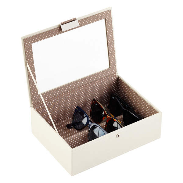 Vanilla Classic Stackers Lidded Eyewear Storage Box