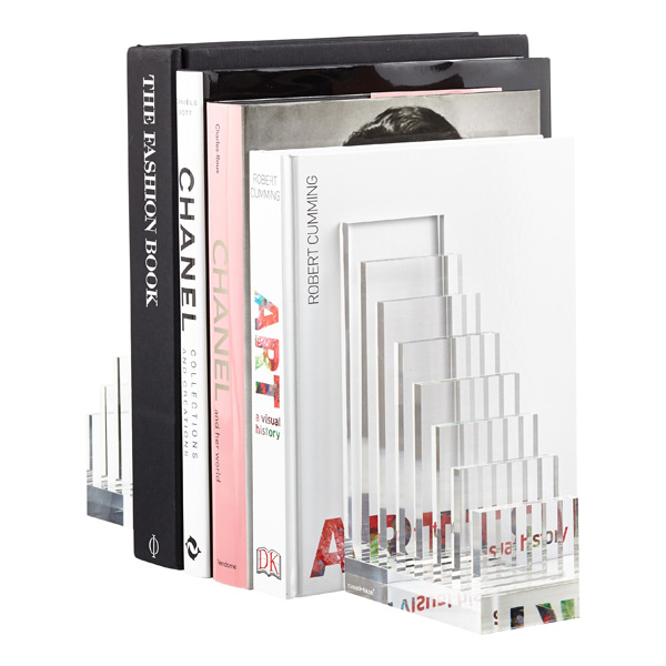 Russell Hazel Acrylic File Sorter & Bookend