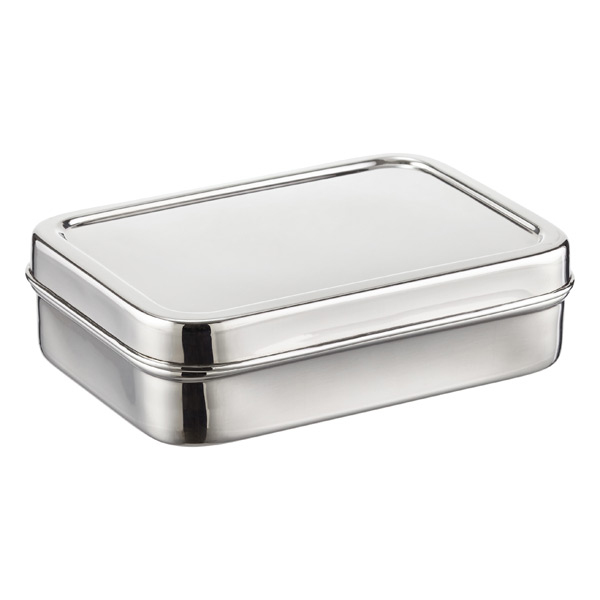 Rectangular Stainless Steel ECOlunchbox