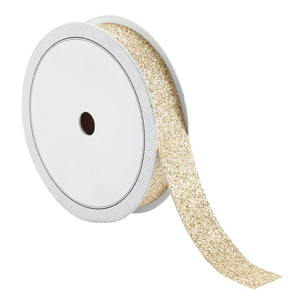 Gold Glitter Decorative Tape