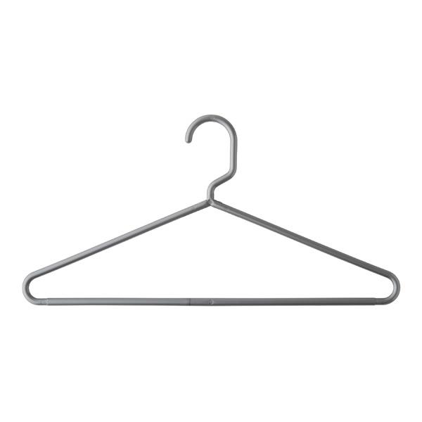 Classic Tubular Hangers - White, Grey & Black Plastic ...