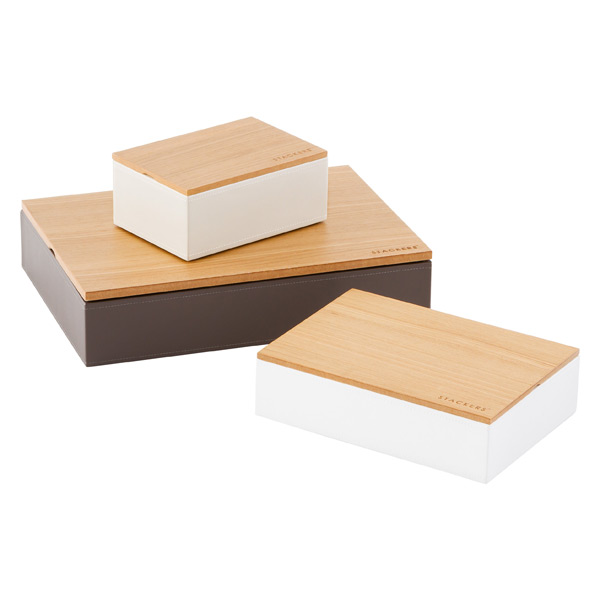 Wooden Lid Stackers
