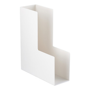 White Poppin Magazine Holder