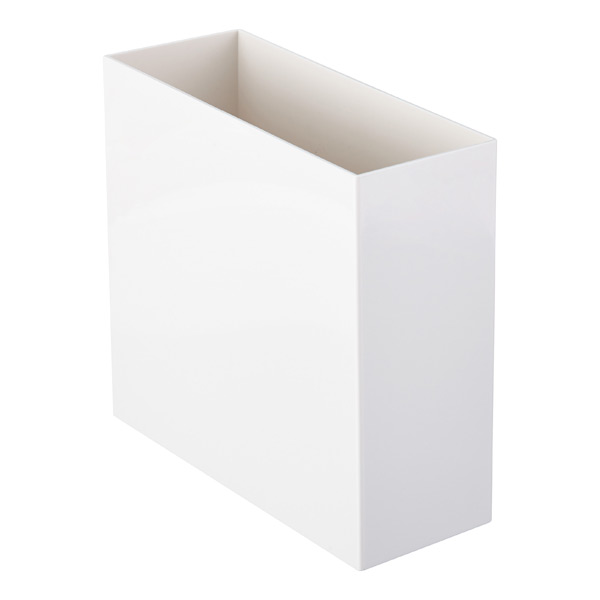 white poppin hanging file box the container store. Black Bedroom Furniture Sets. Home Design Ideas