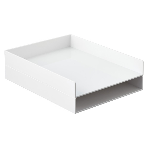 Poppin Stacking Letter Tray
