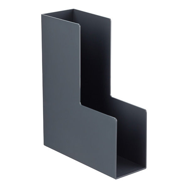 Dark Grey Poppin Magazine Holder