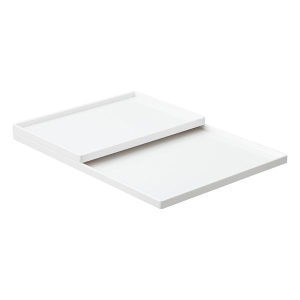 White Poppin Accessory Slim Trays