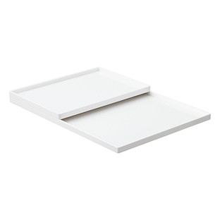 White Poppin Accessory Slim Trays