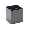 Dark Grey Poppin Pencil Cup