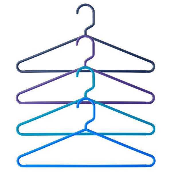 Cool Hangers cool waters tubular hangers | the container store