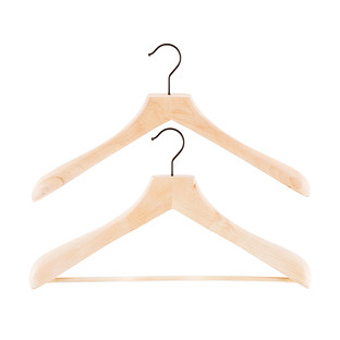 Superior Lotus Wooden Coat & Suit Hangers