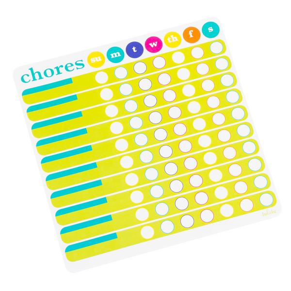 Chores Chart List Pad