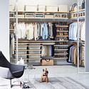 Birch & White elfa décor Walk-In Closet