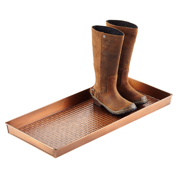 Foyer Boot Storage : Copper boot trays the container store