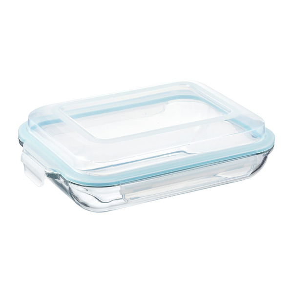 Glasslock Plus Rectangular Food Storage With Lids The