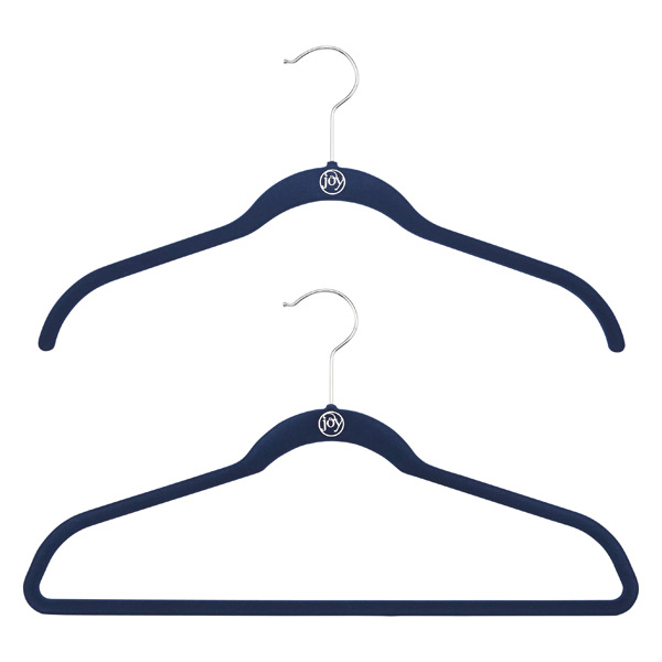 Navy Huggable Hangers Case of 40