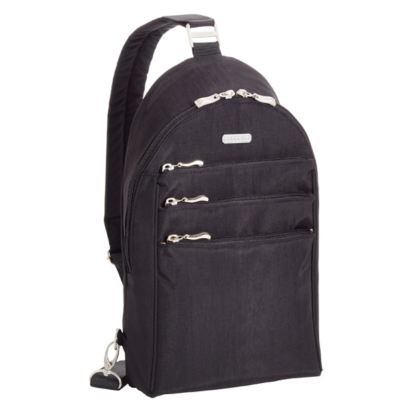 baggallini Black Quickstep Sling Backpack